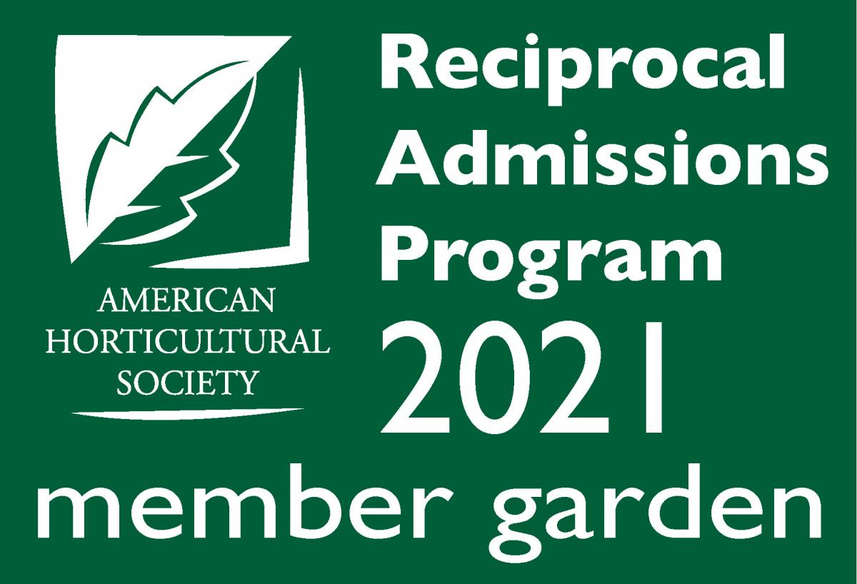 2021 Reciprocal Admissions Program Member Garden