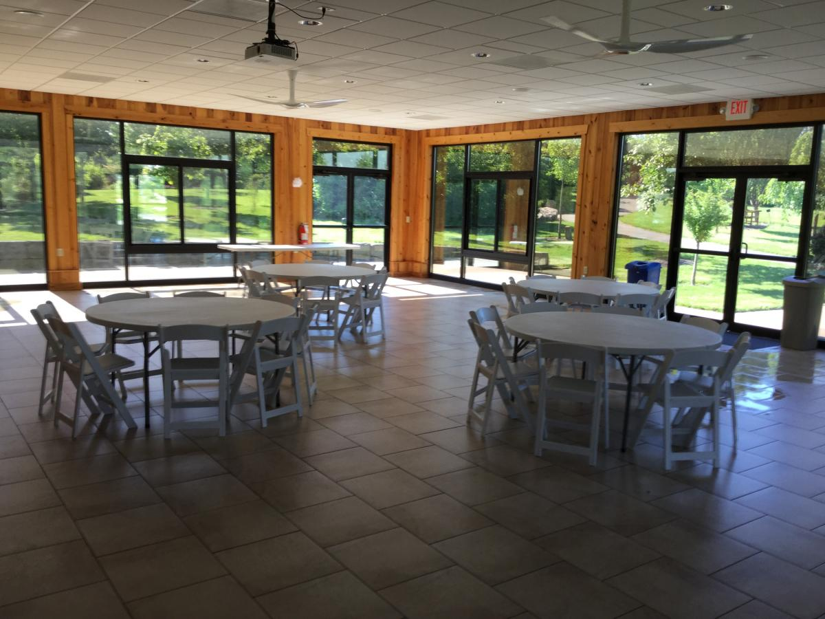 Miller Pavilion Interior